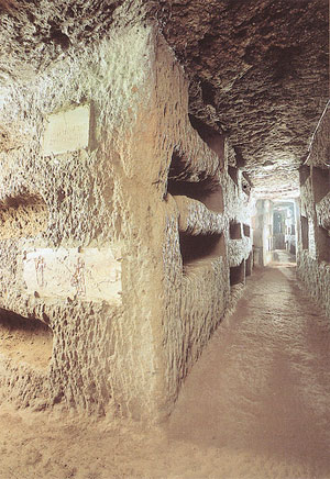 Catacombs of Rome: Domitilla's catacomb