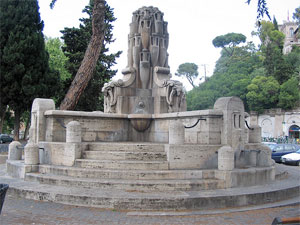Fountains of Rome: Fountain delle Anfore