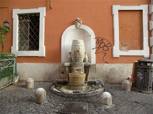 Fountains of Rome: Fontana della Botte