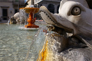 Fountains of Rome: Triton's Fountain