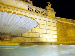 Fountains of Rome: Dea Romana's fountain