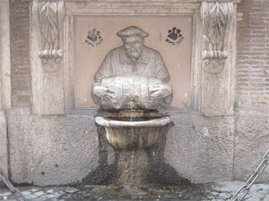 Fountains of Rome: Facchino's Fountain