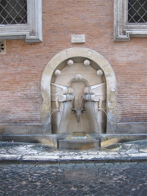 Fountains of Rome: Libri's Fountain