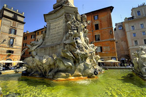 Fountains of Rome: Naiads' Fountain