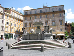 Fountains of Rome: Sant'andrea della Valle