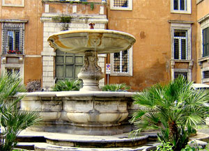 Fountains of Rome: Scole Fountain