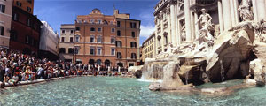 Fountains of Rome: Trevi's Fountaint