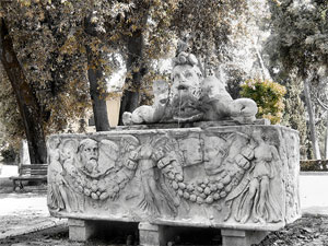 Fountains of Rome: Vittorie Alate fountain