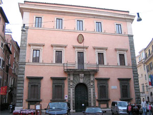 Buildings of Rome: Palazzo Carpegna