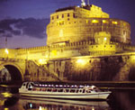 Rome Premier Dinner Cruise on the Tiber River
