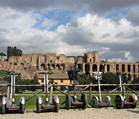Segway tour around Rome